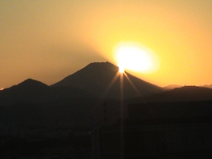 Fuji_sunset